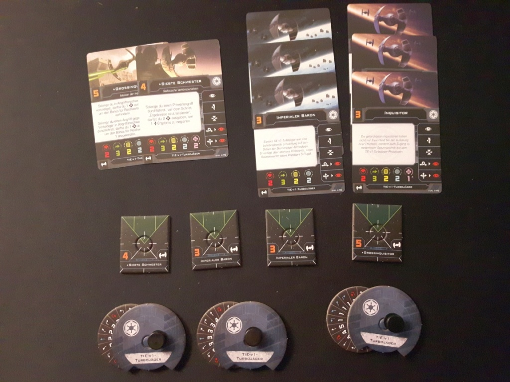 [Biete] X-Wing 2.0 Conv.Kits(engl.): Lambda Shuttle + TIE v1 V110