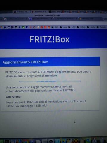 Fritz!Box 7590 e Fastweb: aiuto