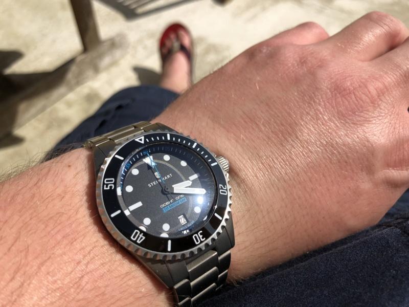 Ocean - Bracelet Steinhart ocean titanium 500 premium Img_5510
