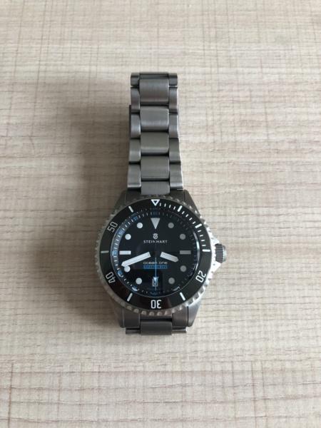 Ocean - Bracelet Steinhart ocean titanium 500 premium Img_5811