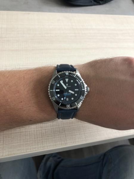 Ocean - Bracelet Steinhart ocean titanium 500 premium Img_5816