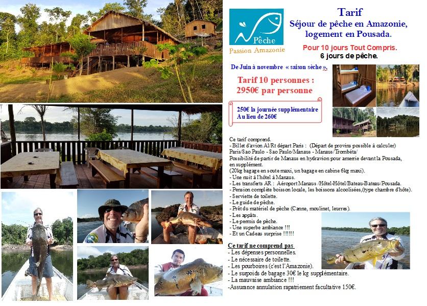 Tarif Amazonie préférentiel pour les participants au forum Tarif_18