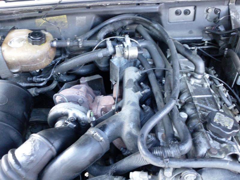 durite du thermostat dure moteur 2.1td  Photo010