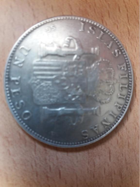 1 Peso 1897 Filipinas 20180710
