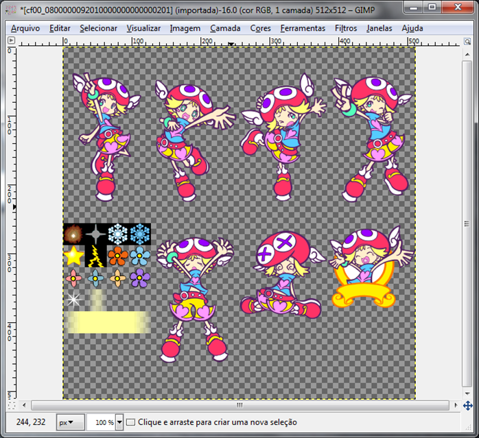 How to make character mods for Puyo Pop Fever PC 410