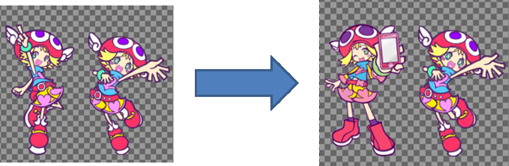 How to make character mods for Puyo Pop Fever PC 510