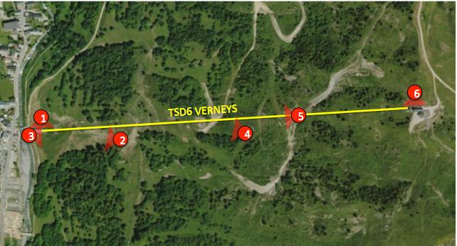 Télésiège à Attache Débrayable 6 places (TSD6) des Verneys Carte_10