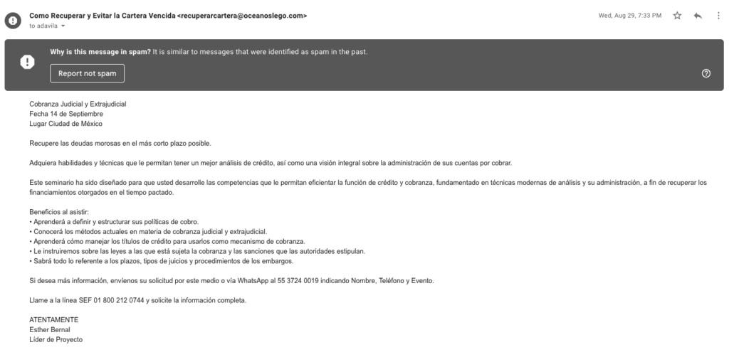 banorte - La nueva profesión fraudulenta de los despachitos Screen10