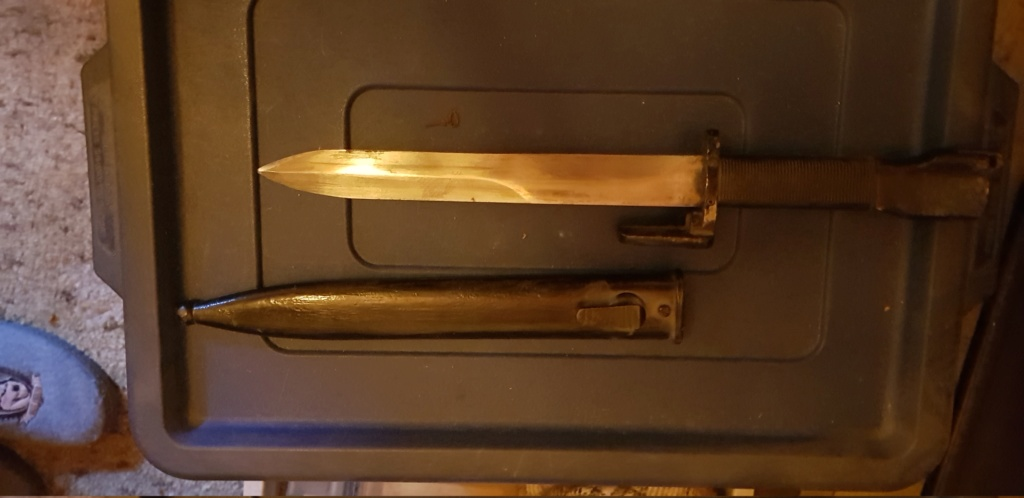 Identification de plusieurs baïonnettes et poignard 20180917