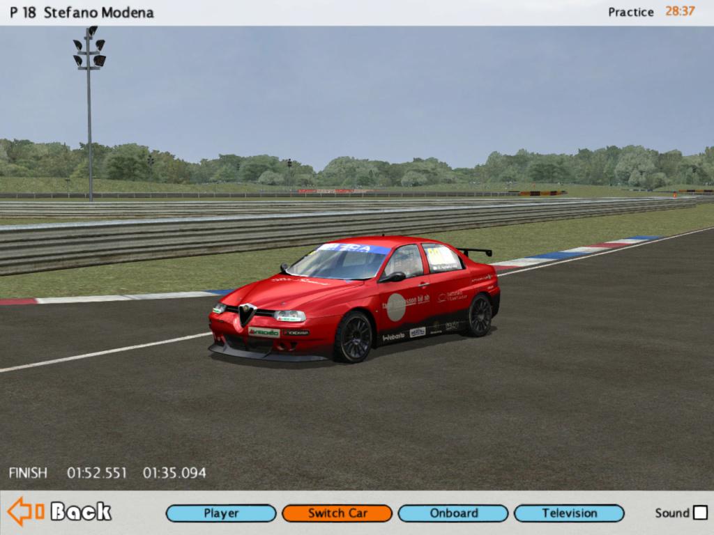 Tyre for GTR2 conversion Alfa1510