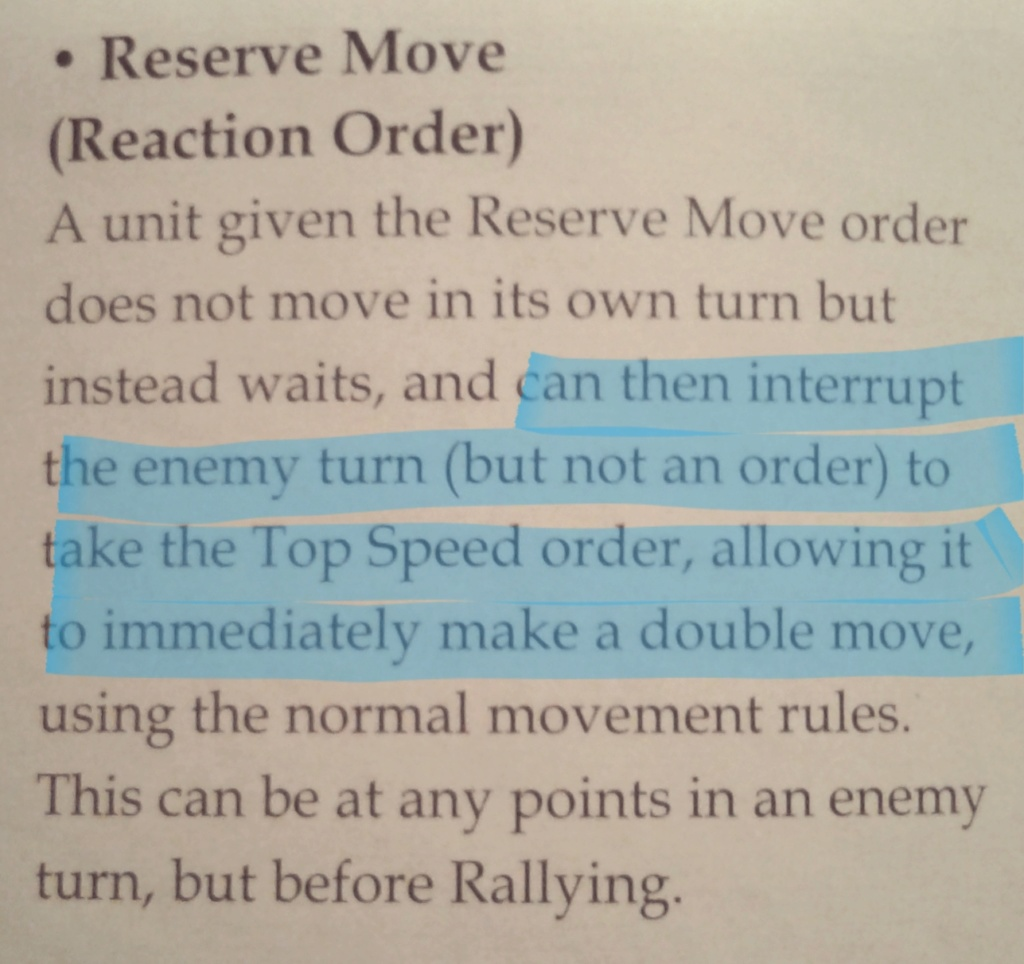Calling in Artillery vs Reserve Move Order 20181010