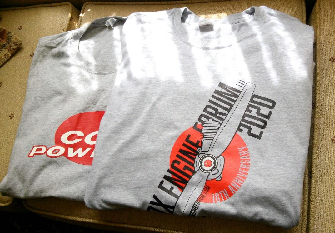 CEF Tee shirt arrives 20200510
