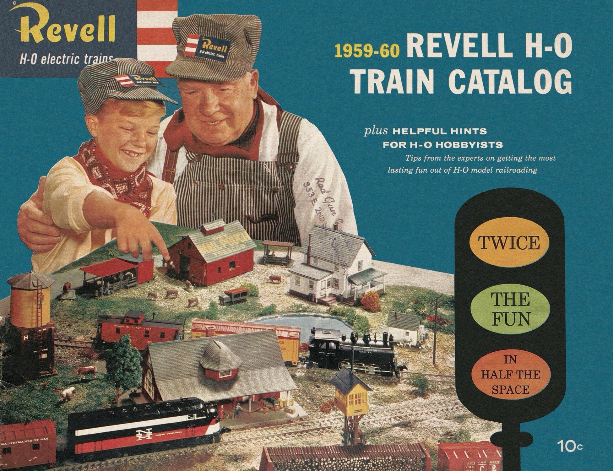 Various Model Railway Catalogs 20210512
