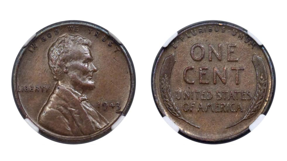 186,000 $ for 1943 Cent Cent_210