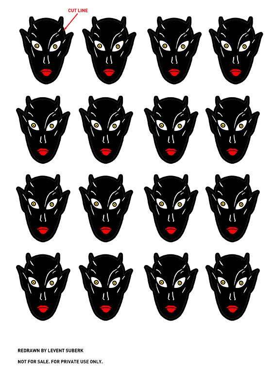 Goldberg Lil Satan Model Decals Lilsat11