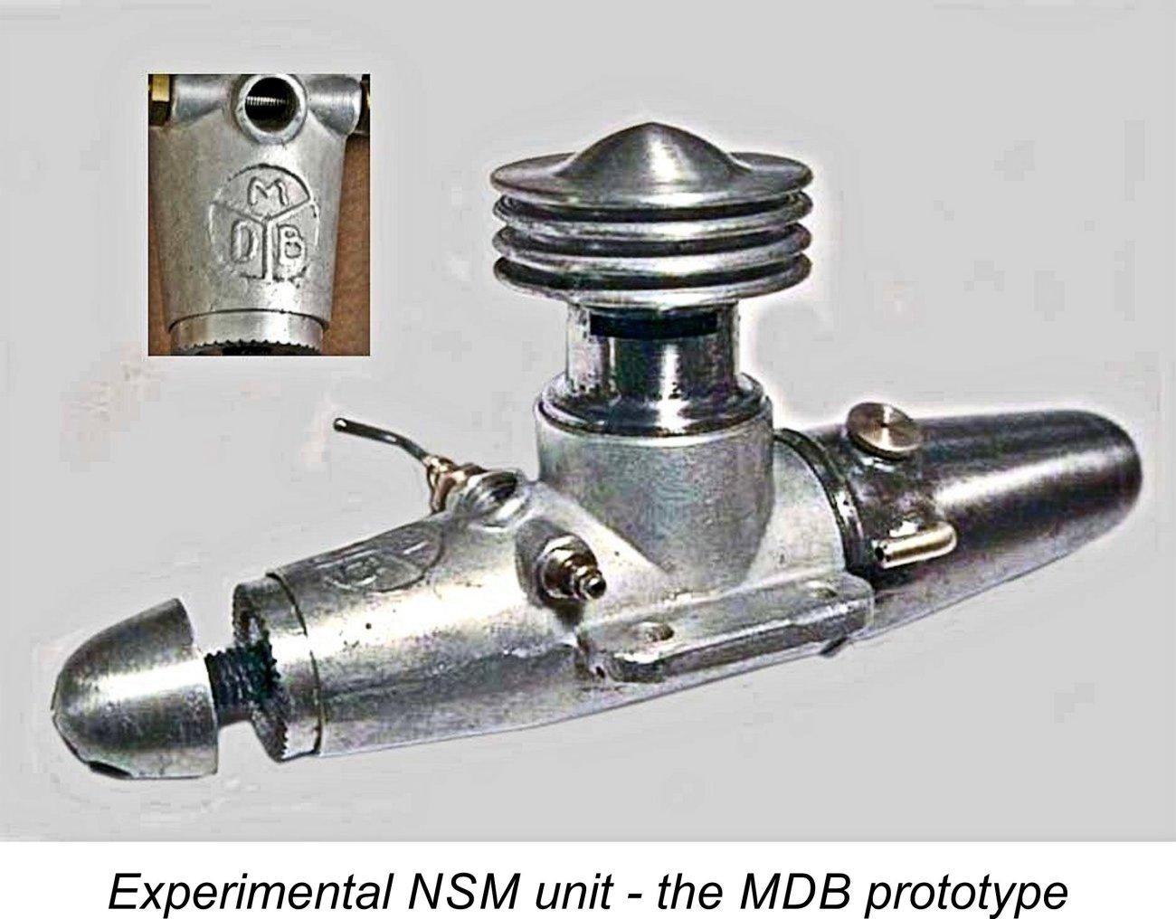 Medallion .000 cu. in. engine Mdb-en10