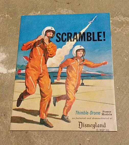 Rare Cox Brochure on ebay Scramb10