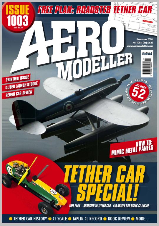 Aeromodeller Magazine Tether Cars Issue Screen72
