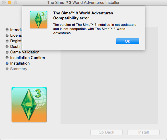 Installation Error downloading sims 3 to mac HELP Screen10