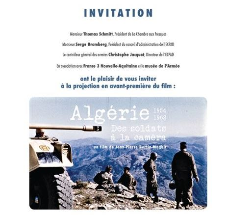 film Algérie 1954 / 1962 112