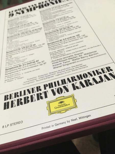 La enésima reedición en vinilo de las Sinfonías de Beethoven dirigidas por Karajan (63) Img_5713