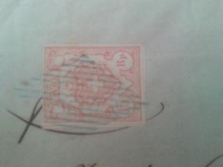 Rayon III auf Brief Rayon_17