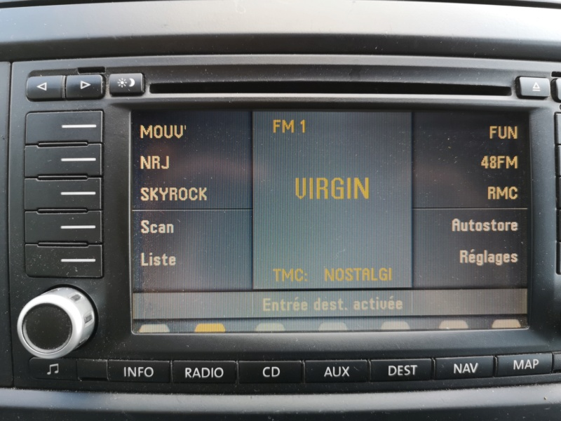 Autoradio RNS2 DVD d'origine VW à vendre. Img_2051
