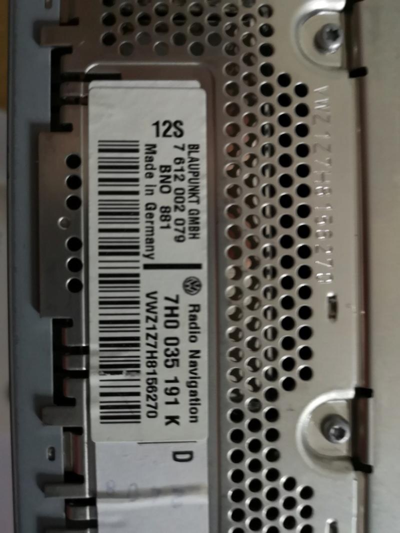 Autoradio RNS2 DVD d'origine VW à vendre. Img_2054