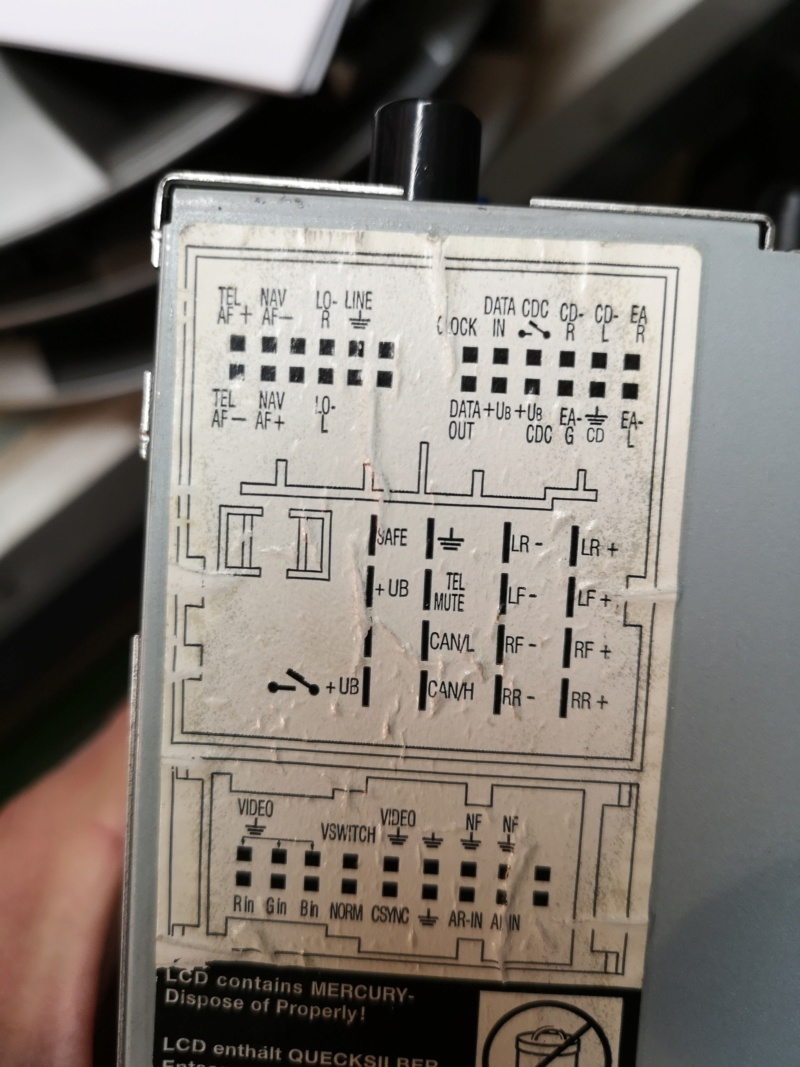 Autoradio RNS2 DVD d'origine VW à vendre. Img_2059