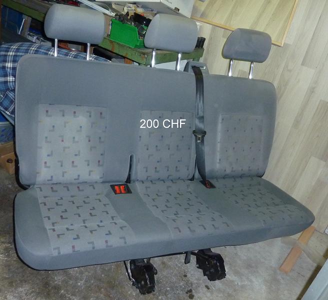A vendre sièges/banquettes T5 Caravelle(long) 2009 P1110513