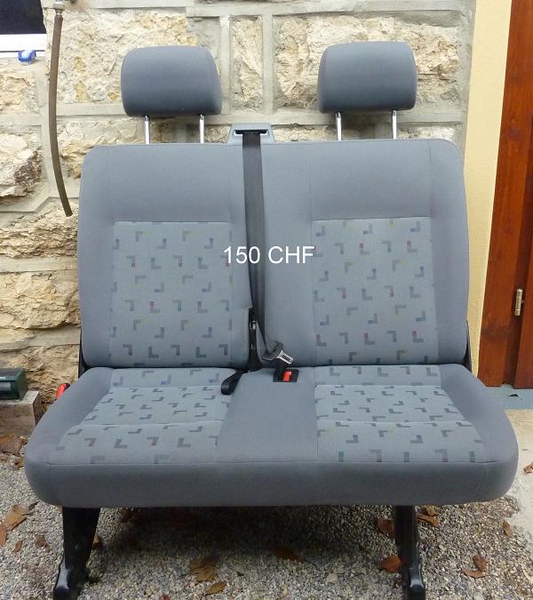 A vendre sièges/banquettes T5 Caravelle(long) 2009 P1110515