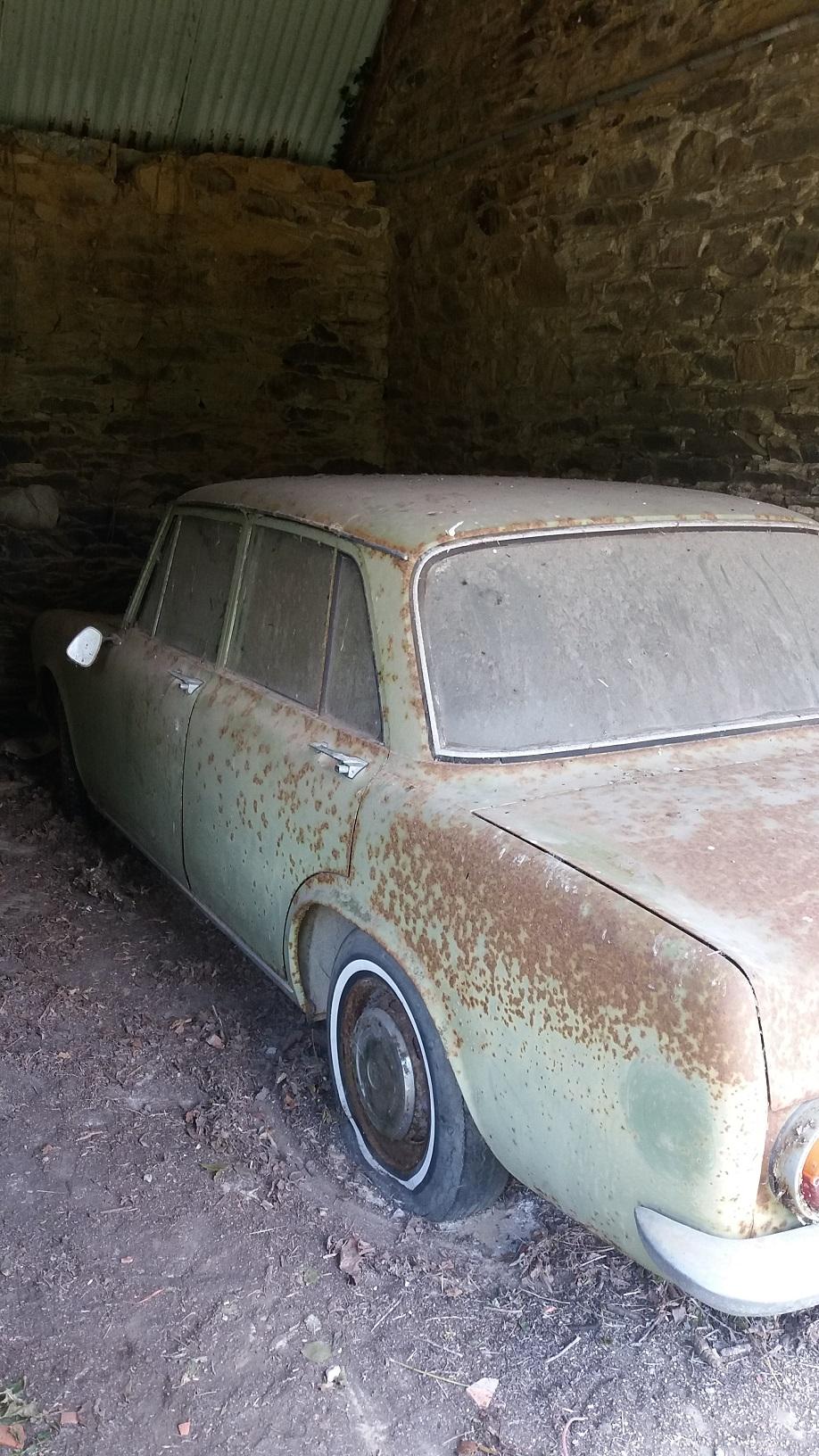 Simca 1300 GL 1963 en Bretagne 20190610