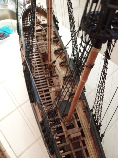 l'amarante corvette de 1747  sur plan de Mr Delacroix  - Page 21 20201013