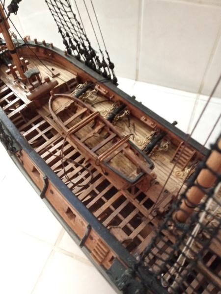 l'amarante corvette de 1747  sur plan de Mr Delacroix  - Page 21 20201014