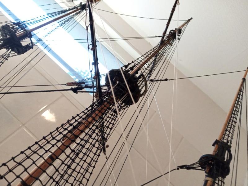 l'amarante corvette de 1747  sur plan de Mr Delacroix  - Page 21 20201015