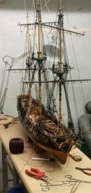 l'amarante corvette de 1747  sur plan de Mr Delacroix  - Page 21 20201016