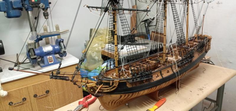 l'amarante corvette de 1747  sur plan de Mr Delacroix  - Page 21 20201017