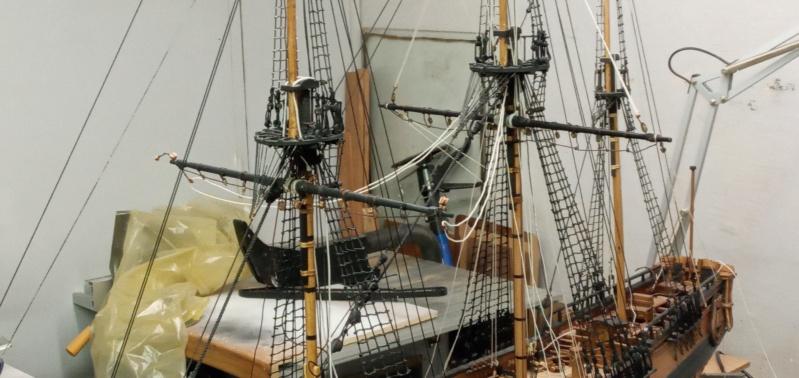 l'amarante corvette de 1747  sur plan de Mr Delacroix  - Page 21 20201018