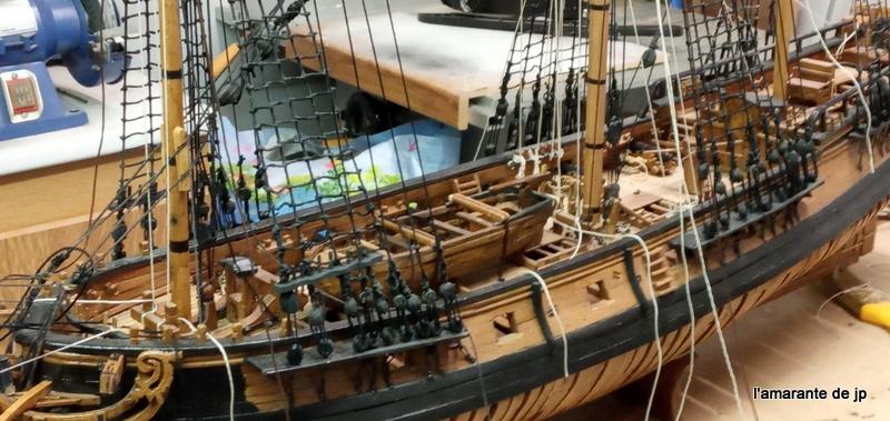 l'amarante corvette de 1747  sur plan de Mr Delacroix  - Page 22 20201116