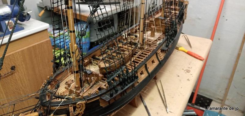 l'amarante corvette de 1747  sur plan de Mr Delacroix  - Page 22 20201117