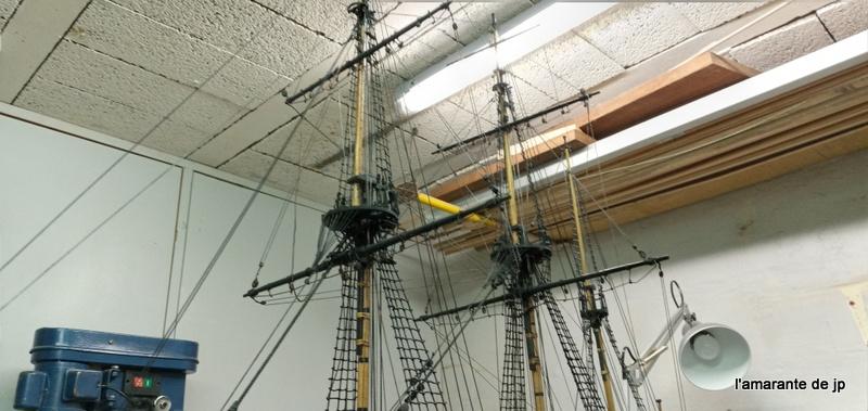 l'amarante corvette de 1747  sur plan de Mr Delacroix  - Page 22 20201118
