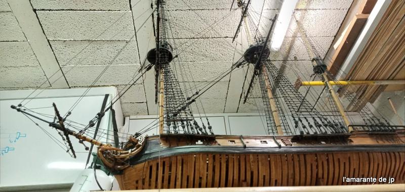 l'amarante corvette de 1747  sur plan de Mr Delacroix  - Page 22 20201120