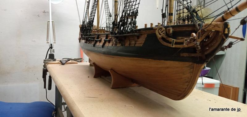 l'amarante corvette de 1747  sur plan de Mr Delacroix  - Page 22 20201123