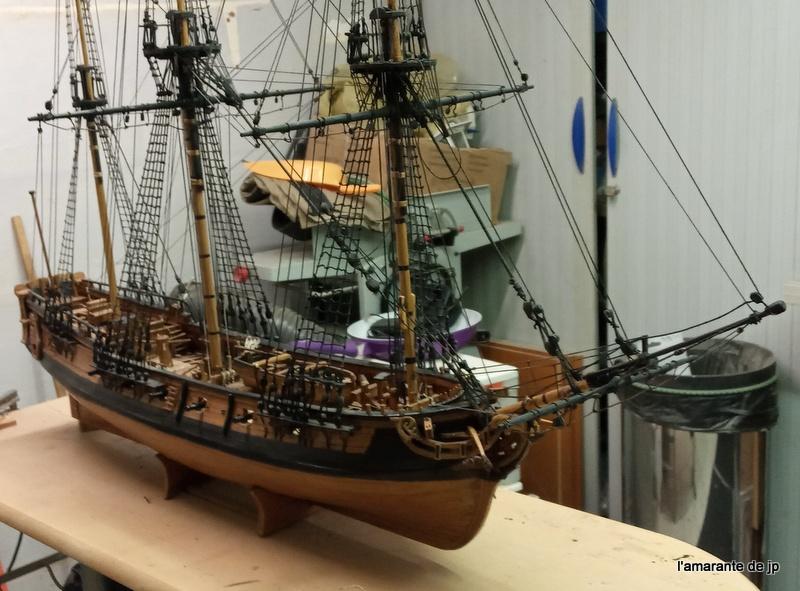 l'amarante corvette de 1747  sur plan de Mr Delacroix  - Page 22 20201124