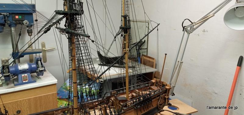 l'amarante corvette de 1747  sur plan de Mr Delacroix  - Page 22 20201128