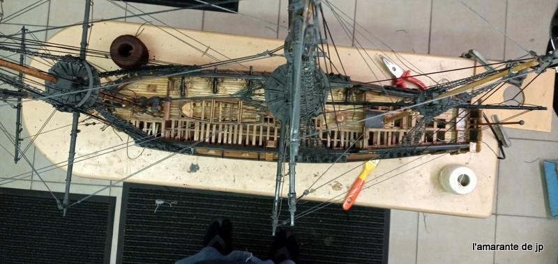 l'amarante corvette de 1747  sur plan de Mr Delacroix  - Page 22 20201129