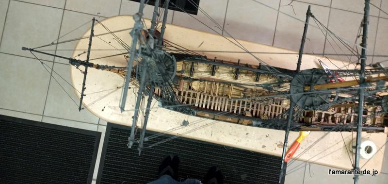 l'amarante corvette de 1747  sur plan de Mr Delacroix  - Page 22 20201130