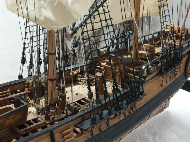 l'amarante corvette de 1747  sur plan de Mr Delacroix  - Page 23 20201210