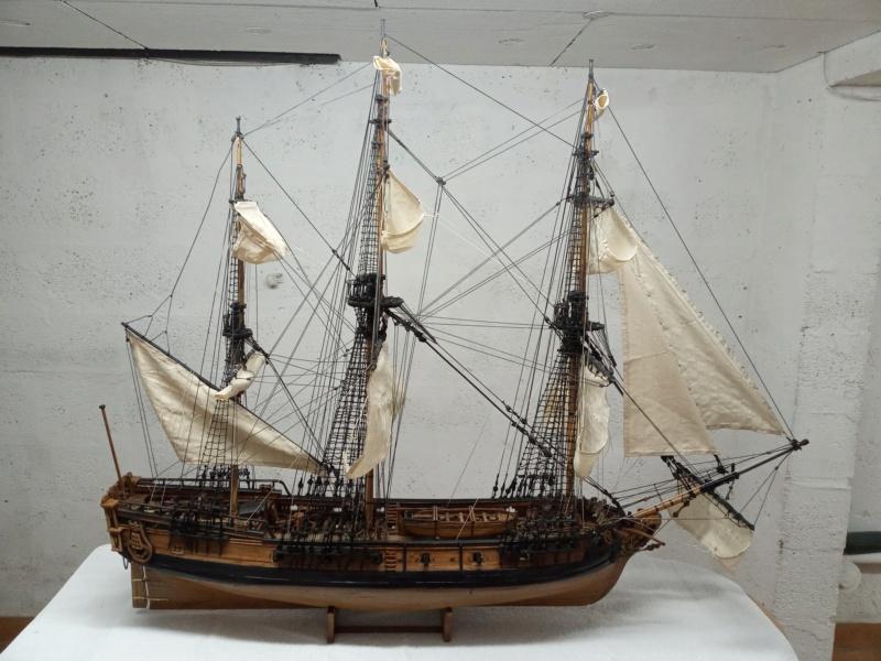 l'amarante corvette de 1747  sur plan de Mr Delacroix  - Page 23 20201211