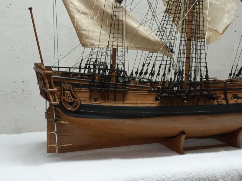 l'amarante corvette de 1747  sur plan de Mr Delacroix  - Page 23 20201212